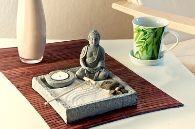 cleaning a zen home