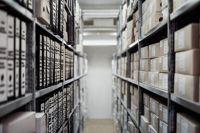 clean a office storage in Guildford