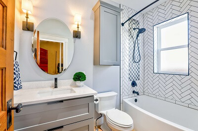 clean the bathroom in your Guildford home