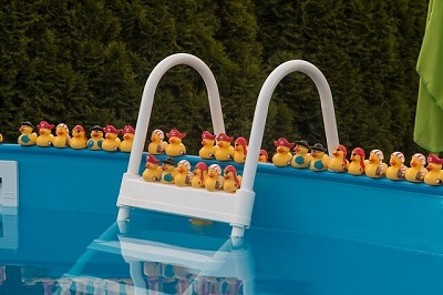 wash your pool toys