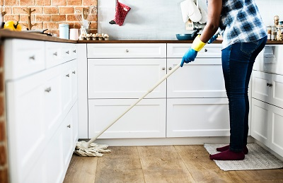 mopping your Guildford kitchen