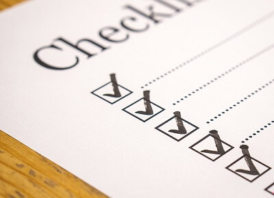 end of tenancy cleaning checklists