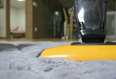 vacuum cleaner in a Reading home