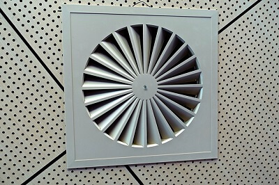 post construction cleaning of the air vents in a Reading home