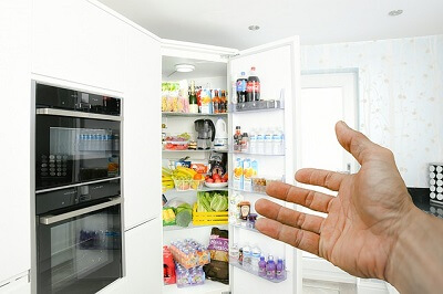 fridge in an Oxford home